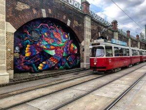 #vienna #autumn #streetart #graffiti Gumpendorfer Straße