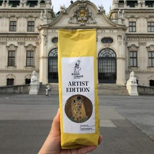 You need more energy today? 😴 Then try out the new coffee by @biedermaier - the Special Artist Edition is available at the Belvedere Shops!  Photo: Bieder & Maier