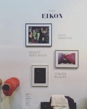 @eikonmagazine at @viennacontemporary with works by #ElfieSemotan #RenateBertlmann #JuergenKlauke and our resent EIKON ...