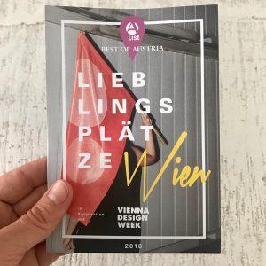 Nimm dir deine A-List-Karte mit den Lieblingsplätzen der Vienna Design Week-Gestalter mit! Du findest sie in der...