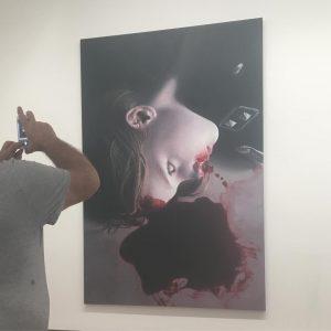 Das gemurmel der unschuldigen 39 - Gottfried Helnwein, 2012