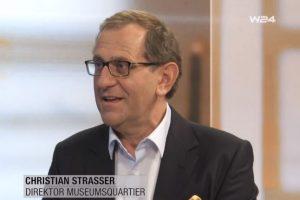 """Christian #Strasser, Direktor @mqwien, über das Dachterrassenprojekt """"Libelle"""