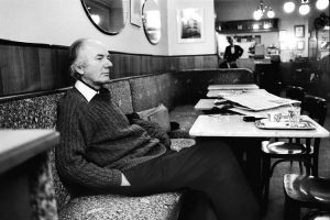 Thomas Bernhard at a Viennese coffee house. For @ReemK10