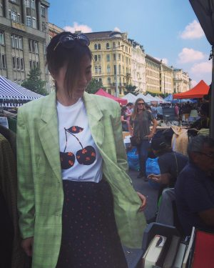 love vintage💚#Austria#Vienna#fleamarket #vintagestyle Flohmarkt am Naschmarkt