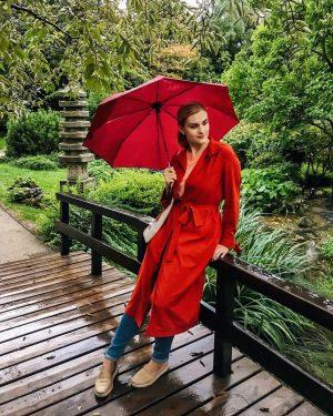 Если в венском японском парке никого нет, вывод напрашивается сам собой: идёт дождь ☔️ Ну и пусть...