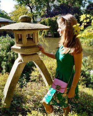 Вдохновение для хокку Поищу в саду японском На окраине столицы Жарким месяцем осенним #japanese #garden #vienna #wien...