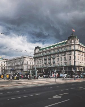 Oh Vienna. #drama