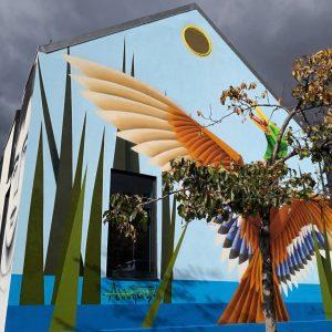 Die großartige #annatomix am Yppenplatz #streetart #graffiti #grafflove #rsa_graffiti #rsa_streetview_ #igersaustria #igersvienna #wienerfassaden #wallporn #urbanart #art #publicart...