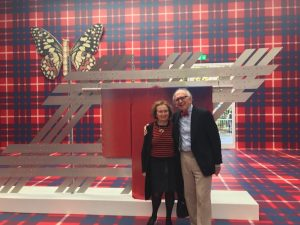 Prominent visitors today: nobel prize recipient Eric Kandel and his wife Denise Kandel, ...