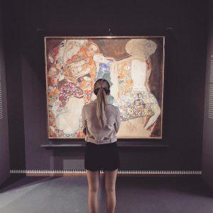 KLIMT 🤩 #gustavklimt #leopoldmuseum #vienna