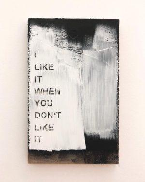 I like it when you don't like it