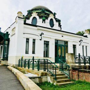 Der Hofpavillion in Hietzing erbaut von Otto Wagner. Zum 100.Todestag Wagners präsentiert das Wien Museum eine umfassende...