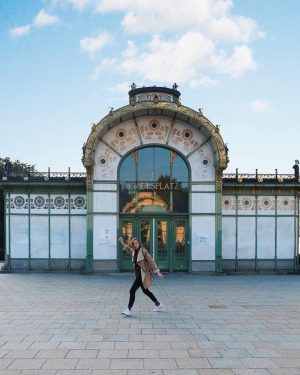 Because of the beautiful old train station. #karlsplatz #vienna #austria #travelaustria #visitvienna #wien #österreich