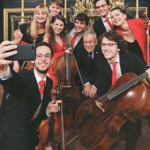 🎶 Thank you for the music! Immer wieder sorgen Studentinnen und Studenten der @mdwwien für die musikalische...