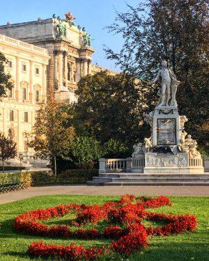 Vienna in autumn #viennaclassic #hofburg #neueburg #burggarten