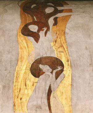 Frise Beethoven #Klimt #Wien #speechless