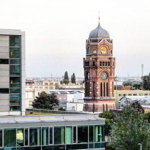Austria Vienna 1110 Simmering Gasometer City Wasserturm #austria #österreich #австрия #vienna #wien #viennanow #viennagoforit #viennalove #visit_vienna #igersaustria...