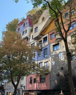 #wien #donau #prater #sundown #sonnenuntergang #vienna #österreich #austria #riesenrad #giantferriswheel #travel #flusskreuzfahrt #hundertwasservillage #architecture #architektur #downtown #hundertwasser