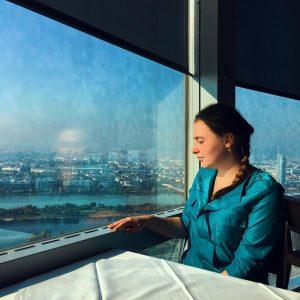 🏙❤️ . . . . . #panorama #wien #beauty Donauturm Wien
