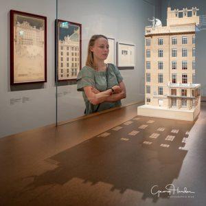 Model of Wiener Postsparkasse  #igersaustria #igersvienna #wienmuseum #ottowagner #architecture #welovevienna
