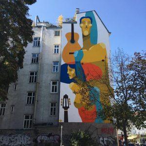 Vienna murals #streetartvienna #karmelitermarkt #murals #viennamurals #leopoldstadt #goodnightatwien #streetart grätzlhotel Karmelitermarkt