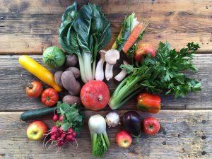 So sehen unsere Obst und Gemüsekisterl zurzeit aus :) #biokistl #saisonal #regional #gemüse ...