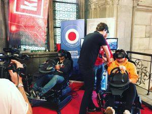 Heute startet die @gamecityvienna im #Rathaus 🎇 wir werden berichten 🚨 #city4u #virtualreality #gamecity #games #vienna