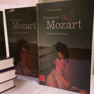 Yesterday evening the author Viveca Servatius presented her new book about Constanze Mozart in the Mozarthaus Vienna....