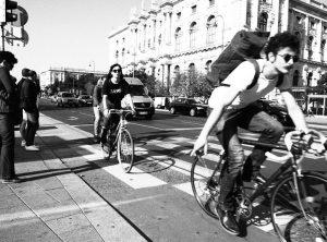 Bikelove.  #streetphotography #vienna #blackandwhite #people #olympuspen #streetsofvienna #austria #sw #people #diversity #femalephotographer #ilovepeople #society #faces #strangers #bestofstreets #streets Vienna
