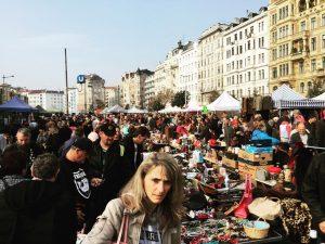 #flohmarkt #wytworny #wiedeń #österreich #🇦🇹 #ptakdrapieżny Flohmarkt am Naschmarkt
