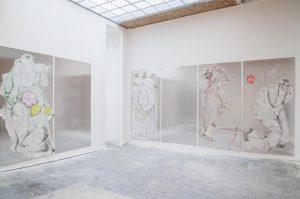 Call it dystopia - Saskia Te Nicklin / Egon Schiele [...] Like bog bodies, preserved in marshland...