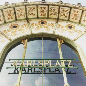 #karlsplatz #ottowagnerpavillon #sezessionstil #arhitekt #wien