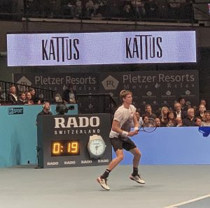 #Anderson vs. #Nishikori - Great 👍 #tennis game #erstebankopen powered by @kattus1857 #vienna Wiener Stadthalle