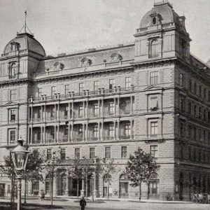 #TBT: Did you know that our building was an imperial police station until it was completely destroyed...