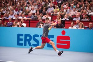 Dominic Thiem 🎾 in action yesterday #erstebankopen @domithiem @erstebankopen #ersteopen500 #erstebankopen500 #thiem #dominicthiem #wien #Vienna #viennaaustria #atp