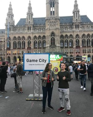 Game-City Vienna 2018 Bnha reference #kaminaridenki #bokunoheroacademia #gamecity Game-City