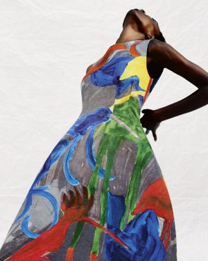 Der Designer Arthur #Arbesser hat eine Kollektion, gefertigt aus Stoffen der Textilmanufaktur Backhausen mit Mustern von Koloman...