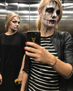 Happy Halloween! 🎃 Last Minute Schminktipps auf fm4.orf.at 😱 link in bio #halloween #halloweencostumes #makeup