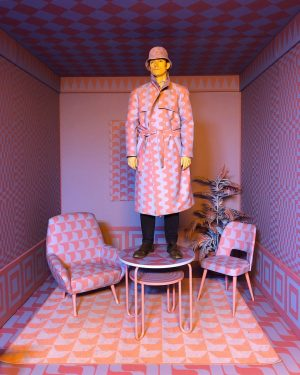 O Captain! My Captain!@stefansagmeister & @jessicavwalsh #exhibition @mak_vienna #sagmeisterwalsh #beauty #patterns #design #interior #backhausen @backhausen_original #colour #colourpop...