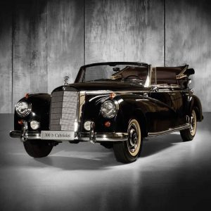 This #Mercedes means business! Acting as a stately #car for the executives of a family-run company, this...