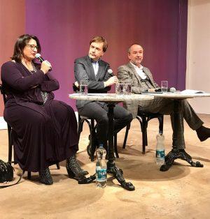 #KULTURPOLITISCHE GESPRÄCHE #MatthiasDUSINI #falter im Gespräch mit #VeronicaKAUP-HASLER & #ThomasDROZDA 13. November 2018 | 18:30 Uhr Begrüßung:...