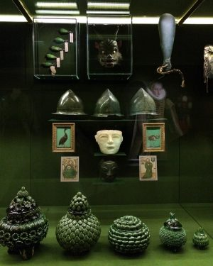 Spitzmaus Mummy in a Coffin and other Treasures Выставка Вэса Андерсона и Джуман Малуф, для которой режиссёр...
