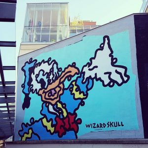 Vienna, Austria. By @wizardskull. #streetart #urbanart #arteurbana #artderue #wallart #mural #graffiti #donaldduck #pop #popart #donaldduckgraffiti #disney #streetartpassagevienna...