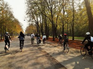 Our annual traditon in autumn: a bike tour across Vienna to visit our ...