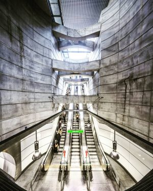 Please have a look at Subway Project at #subway_project #austria #vienna #underground #subway #tube #concrete #modern #elevator...