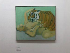 Women at #albertinamuseum 1. Maria Lassnig 2. Tom Wesselmann 3. Adam Katz 4. Niko Pirosmani 5. Egon...