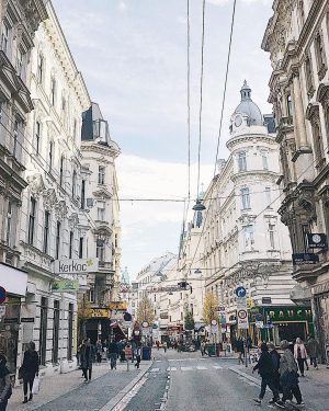 One of my favorite neighborhoods in Vienna, the 7th district. Most of the hip coffee shops, restaurants...