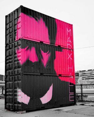 one of #golif's #container around #stmarx #vienna @golifgolif #containerart #urbanart #streetart #tv_streetart #rsa_graffiti #dsb_graff #jj_urbanart #vienna #viennastreetart...