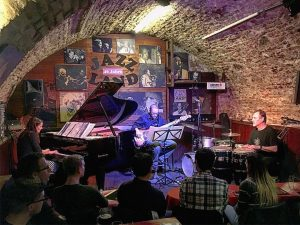 And all that #Jazz!!!! First night in Vienna @camillabonney found this #amazing #jazzclub open since the 70s...