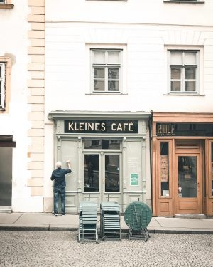 If you were to sit down in a Viennese Café what would you ...